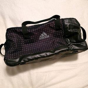 Rare Adidas Polka Dot Large Duffel Bag